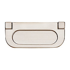Contemporary Metal Pull - Brushed Nickel - 70 mm C. to C.