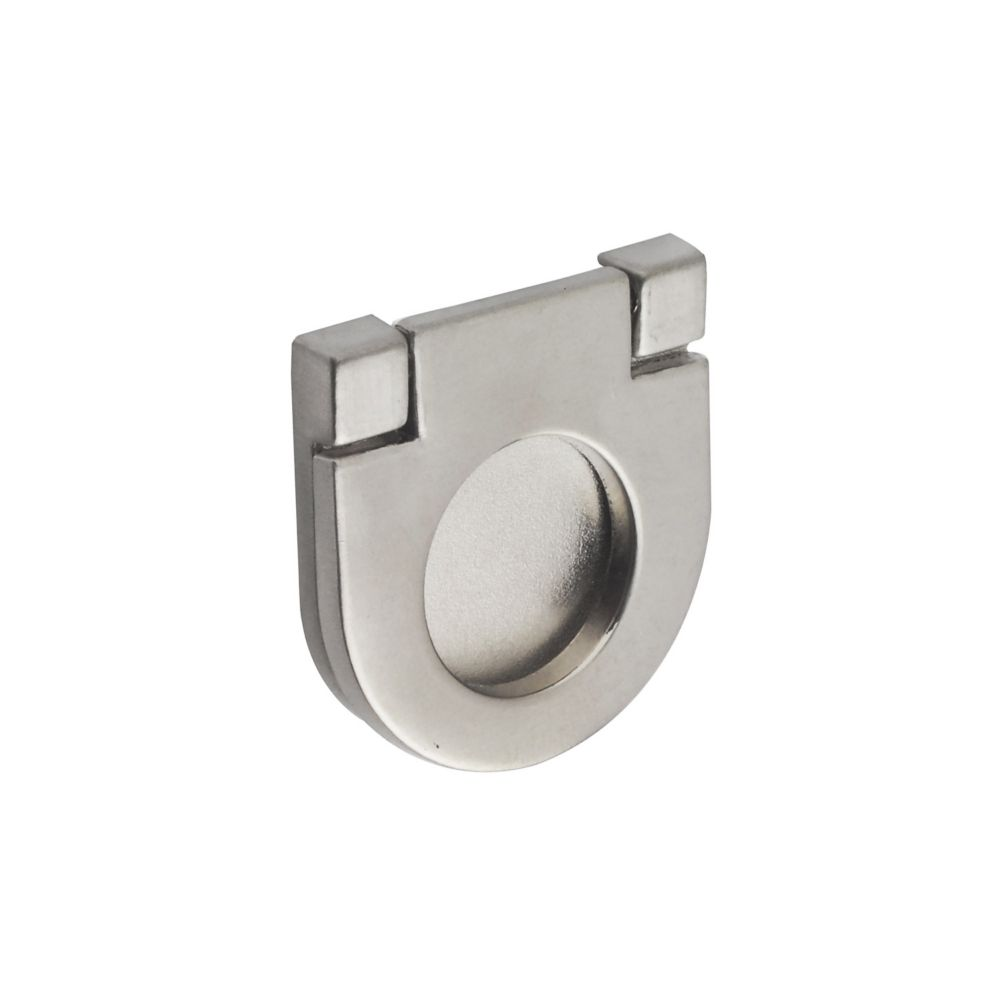 Richelieu Contemporary Metal Pull - Brushed Nickel - 25 mm C. To C.