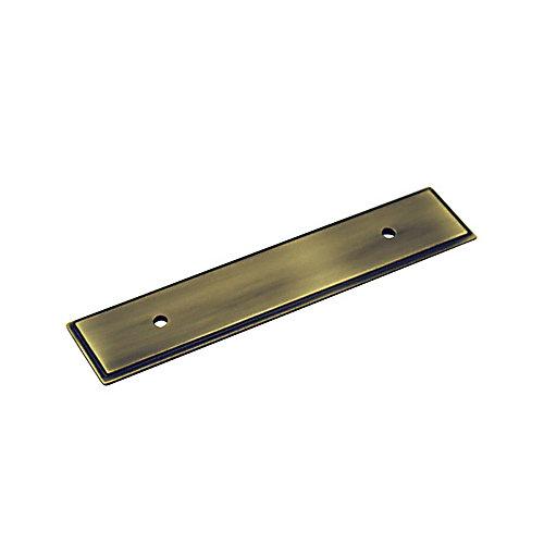 Plaque transitionnelle en métal pour poignée 3 3/4 in (96 mm) CàC - Collection Tremblant