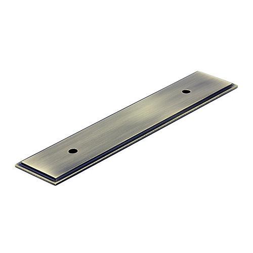 Plaque transitionnelle en métal pour poignée 5 1/32 in (128 mm) CàC - Collection Tremblant
