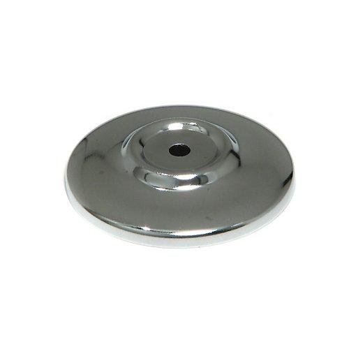 Rosette fonctionnelle en métal pour bouton 2 1/16 in (52 mm) Dia - Chrome - Tremblant Collection