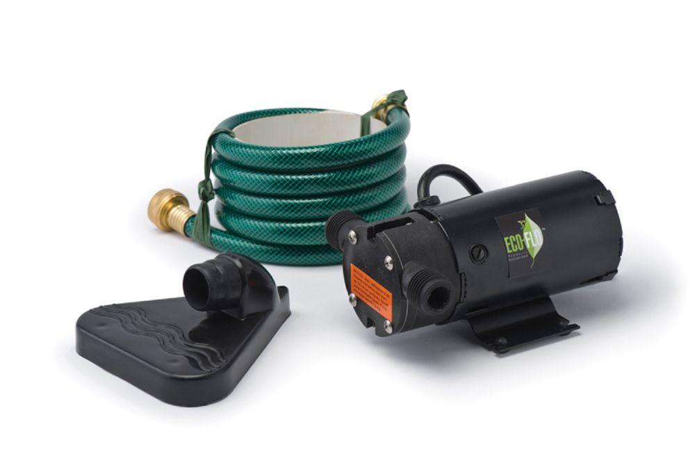 Portable Utility Pump, 350GPH, 115V