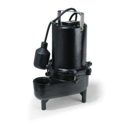 ECOFLO Pompe deaux dégout, 1/2HP, fonte de qualité sup., 7800gal/h, interrupteur à flotteur attaché