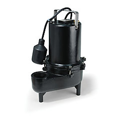 sewage pump 610hp pro ci gph teth sw - Watchdog Sump Pump