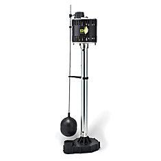 Pompe de puisard sur socle, 1/3HP, fonte
