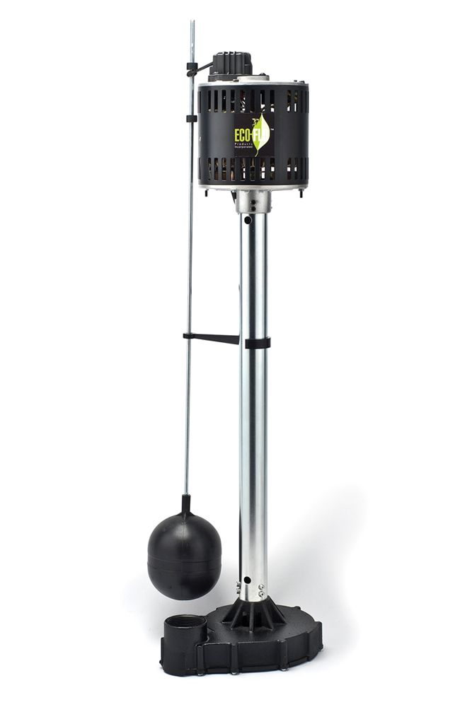 Sump Pump, Pedestal, 1/2HP, Cast Iron