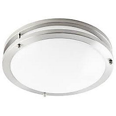 23W 16-inch Dimmable 3000K Integrated LED Flushmount Fixture