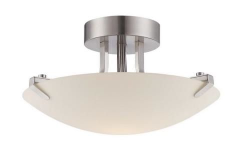"LED Semi Flush Mount 15 "" 23W Dimmable 3000K BN 1610LM"