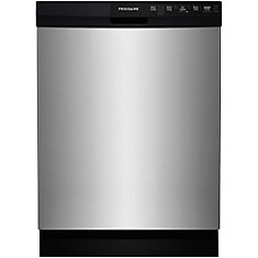 24inch builtin dishwasher in stainless steel