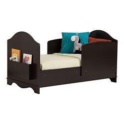 South Shore Lit pour enfant, Espresso, collection Savannah