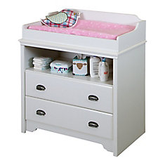 Fundy Tide Changing Table, Pure White