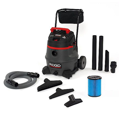 RIDGID 53 L Professional Industrial Wet/Dry Vacuum with 2-Stage Motor