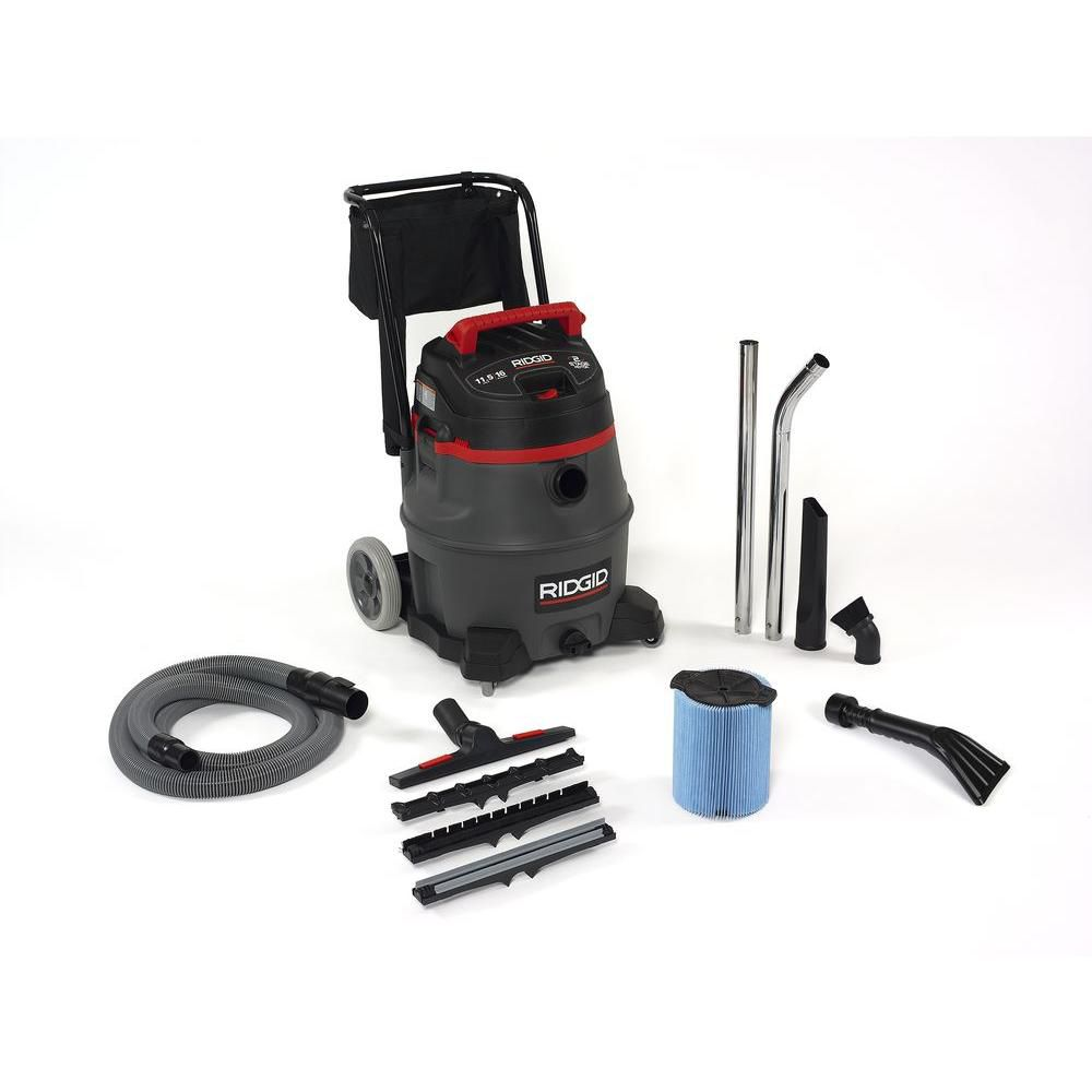 60 L (16 Gal.) 2-Stage Motor Professional Industrial Wet/Dry Vacuum