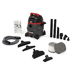 53 L (14 Gal.) Certified HEPA 2-Stage Motor Professional Industrial Wet/Dry Vacuum