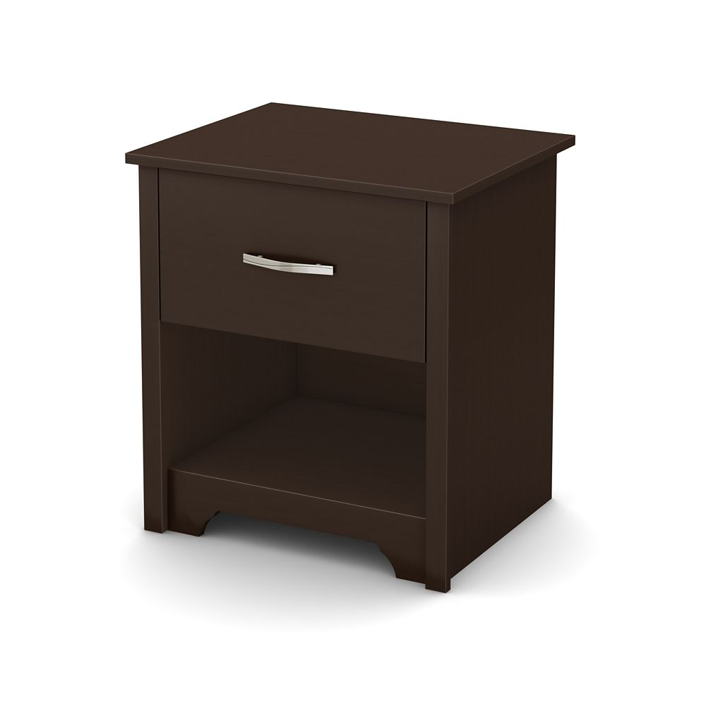 Fusion Night Stand, Chocolate