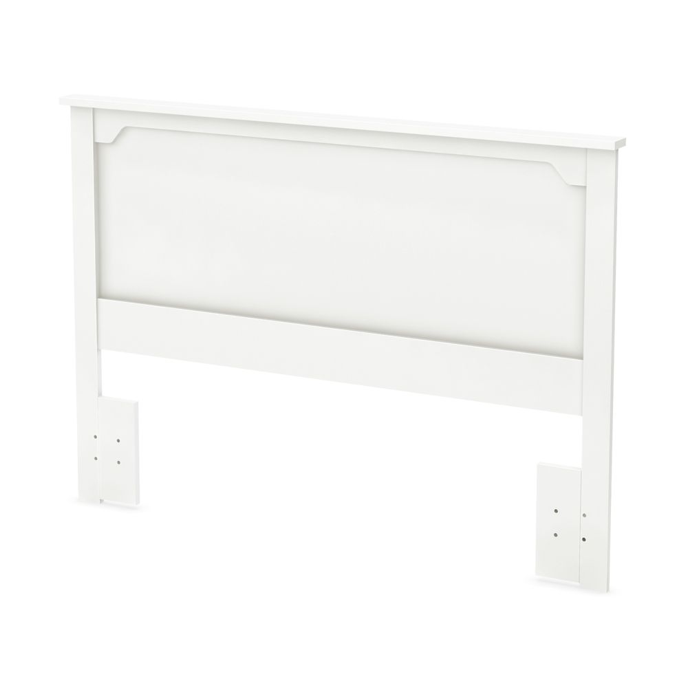 Fusion Full/Queen Headboard (54/60 Inch), Pure White