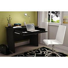 Bureau de travail, Noir solide, collection Work ID