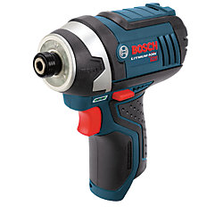 12V Li-Ion Cordless 1/4-inch Variable Speed Impact Driver with Exact-Fit Insert Tray (Tool-Only)