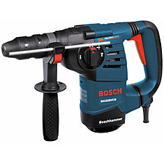 1-1/8 Inch SDS-plus Rotary Hammer with Quick-Change Chuck System
