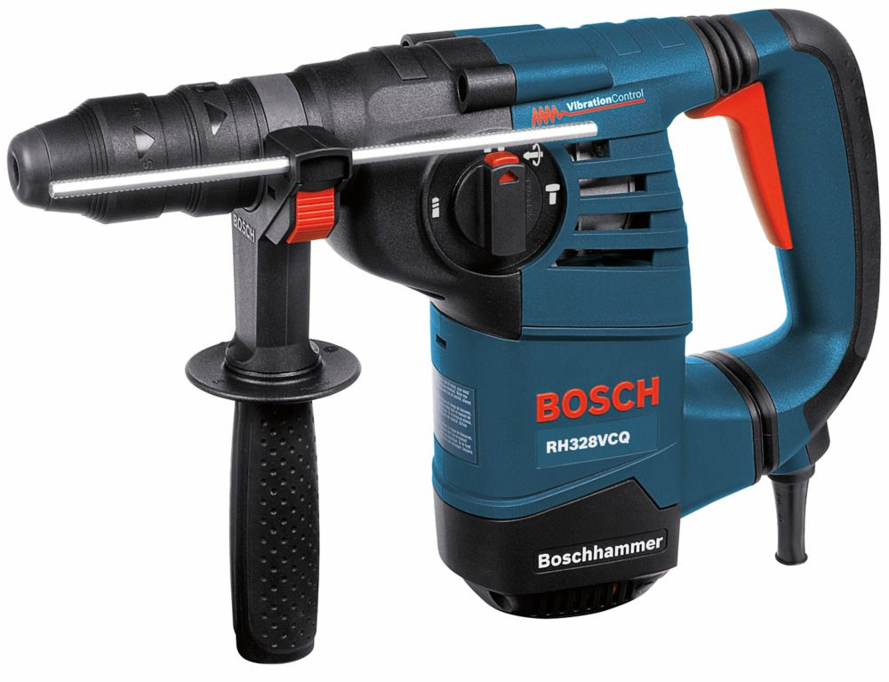 Bosch 1-1/8 Inch SDS-plus Rotary Hammer with Quick-Change Chuck System