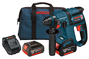 18 V 3/4 Inch SDS-plus Brushless Rotary Hammer Kit with Chisel Function