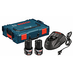 12 V Max Li-Ion Starter Kit with L-BOXX