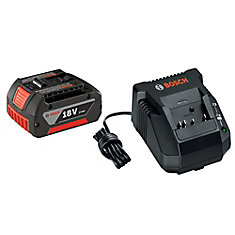 18 V 2-Piece High Capacity Lithium-Ion Start Kit