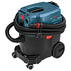 9-Gallon Wet/Dry Dust Extractor Vacuum with Automatic Filter Clean and HEPA Filter