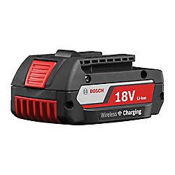 Batterie SlimPack au lithium-ion à chargement sans fil de 18V 2Ah