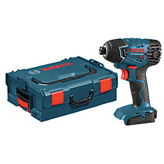 18V Quick Change Chuck 1/4-inch Hex Cordless Impact Driver with Case
