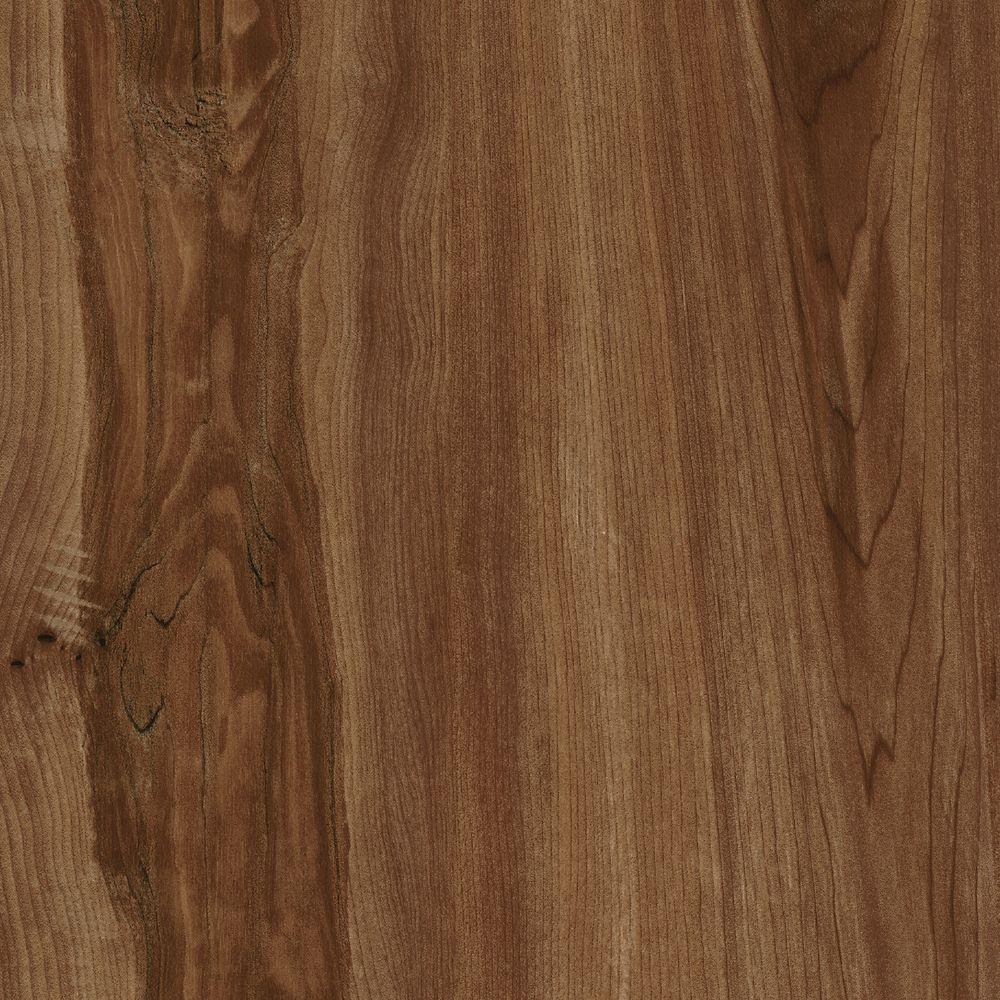 Planches de revêtement de sol en vinyle 5 po x 36 po bois de pomme (22.5 Pi. carré par caisse)