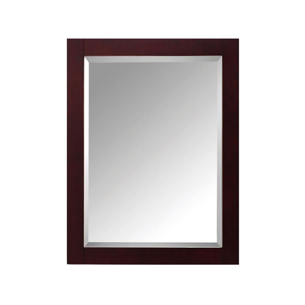 24 Inch Mirror For Modero In Espresso Finish