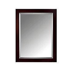 24 Inch Mirror Cabinet For Modero In Espresso Finish