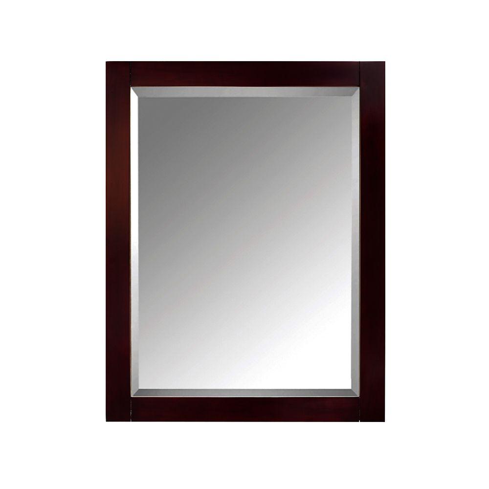 Avanity 24 Inch Mirror Cabinet For Modero In Espresso Finish