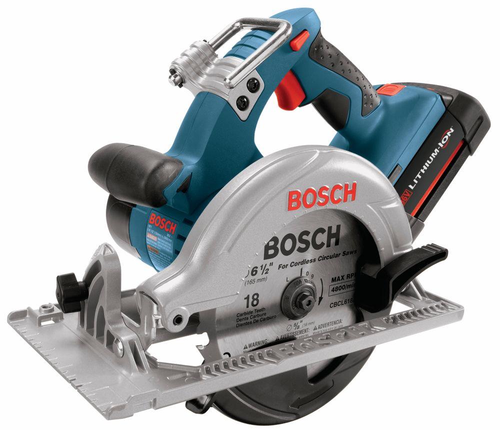 36 V Cordless 6-1/2 Inch Circular Saw Kit - Tool Only