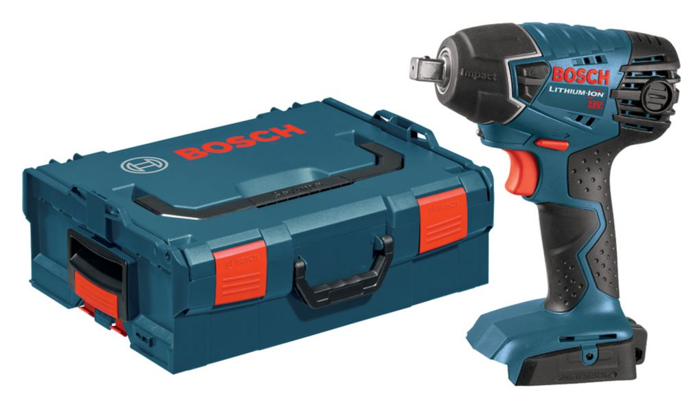 Bosch 1/2 Inch 18 V Impact Wrench Bare Tool with L-BOXX 2