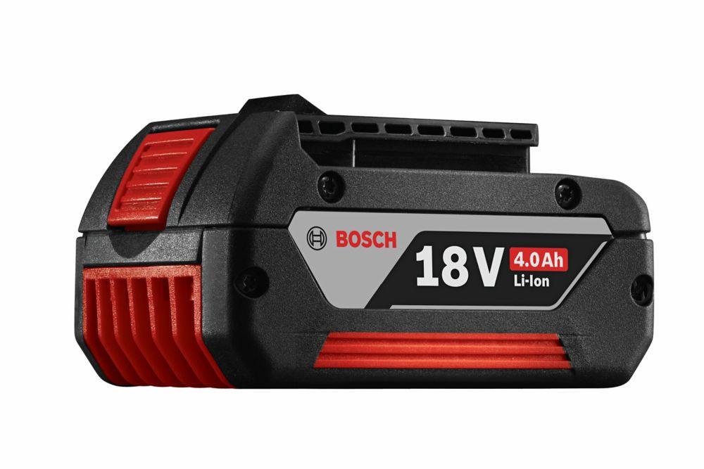 Bosch 18 V Li-Ion 4.0Ah Fat Pack Battery (2-Pack)