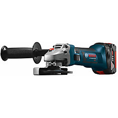 18V Lithium Ion Cordless 4-1/2 inch Angle Grinder