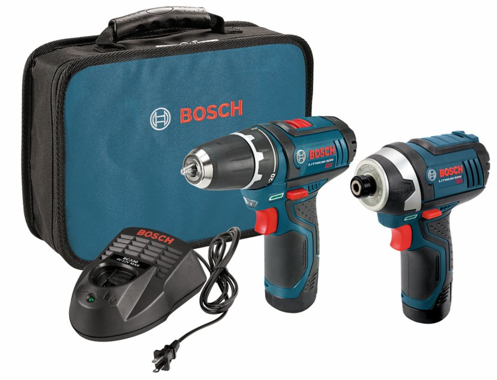 12 V Max 2-Tool Lithium-Ion Cordless Combo Kit