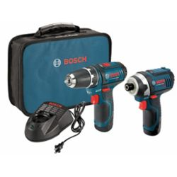 Bosch 12V Li-Ion Cordless Combo Kit (2-Tool)