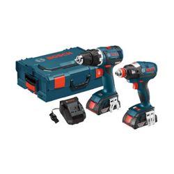 Bosch 18 V 2-Tool EC Brushless Combo Kit