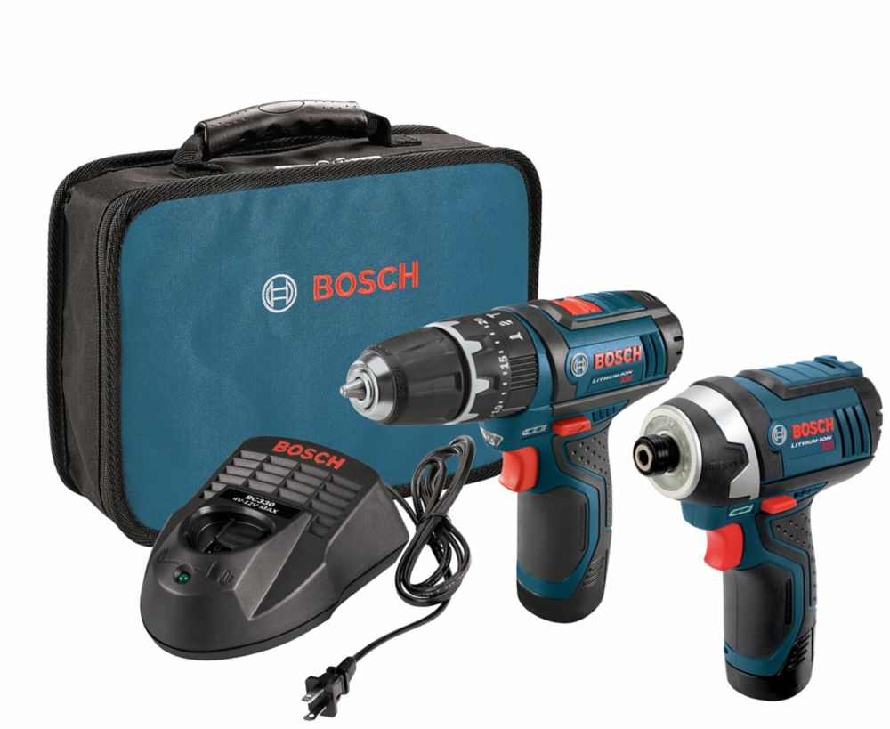 Bosch 12 V Max 2-Tool Lithium-Ion Cordless Combo Kit