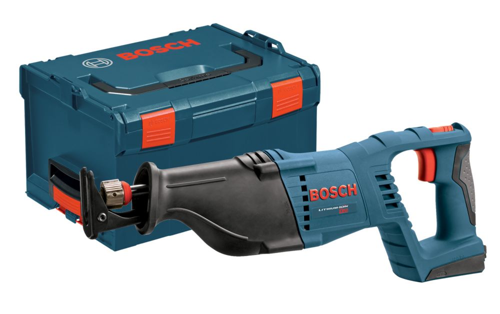 Bosch 18V Lithium Ion Cordless Reciprocating Saw Battery-Tool and Case Only