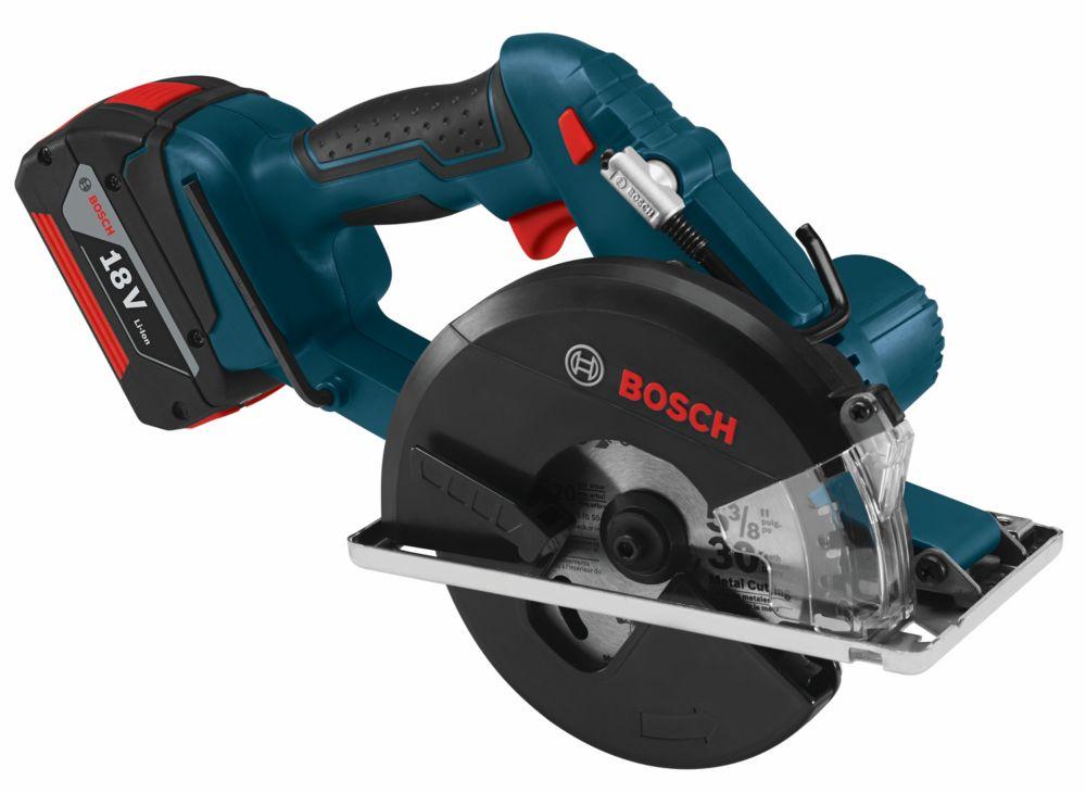 Bosch 18 V Lithium Ion Cordless Metal Cutting Circular Saw