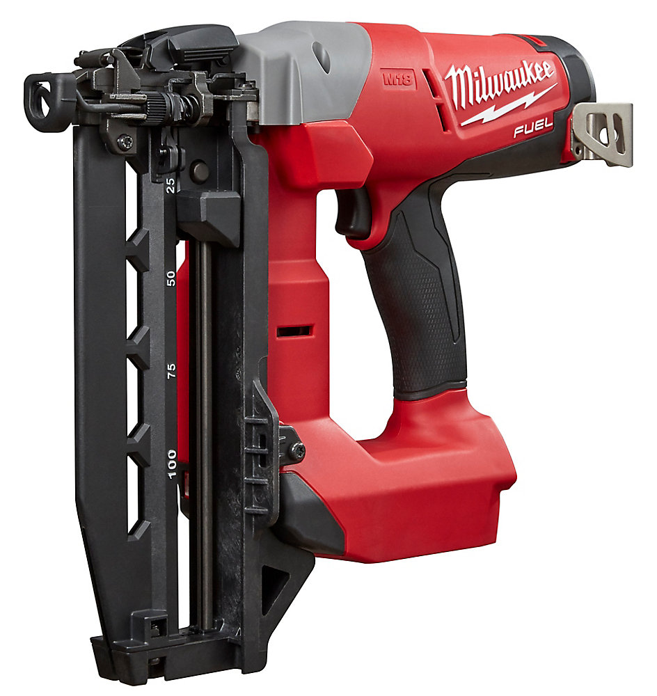 M18 FUEL 18V Lithium-Ion Brushless Cordless 16-Gauge Straight Finish Nailer (Tool Only)