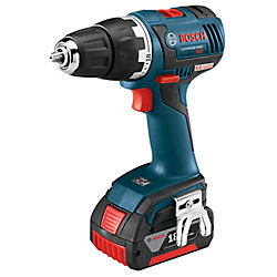 18V EC Brushless Keyless 1/2-inch Chuck Cordless Drill/Driver with Case