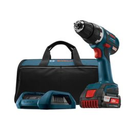 Bosch 18V EC Brushless Keyless 1/2-inch Chuck Cordless Drill/Driver with Wireless Charging Kit