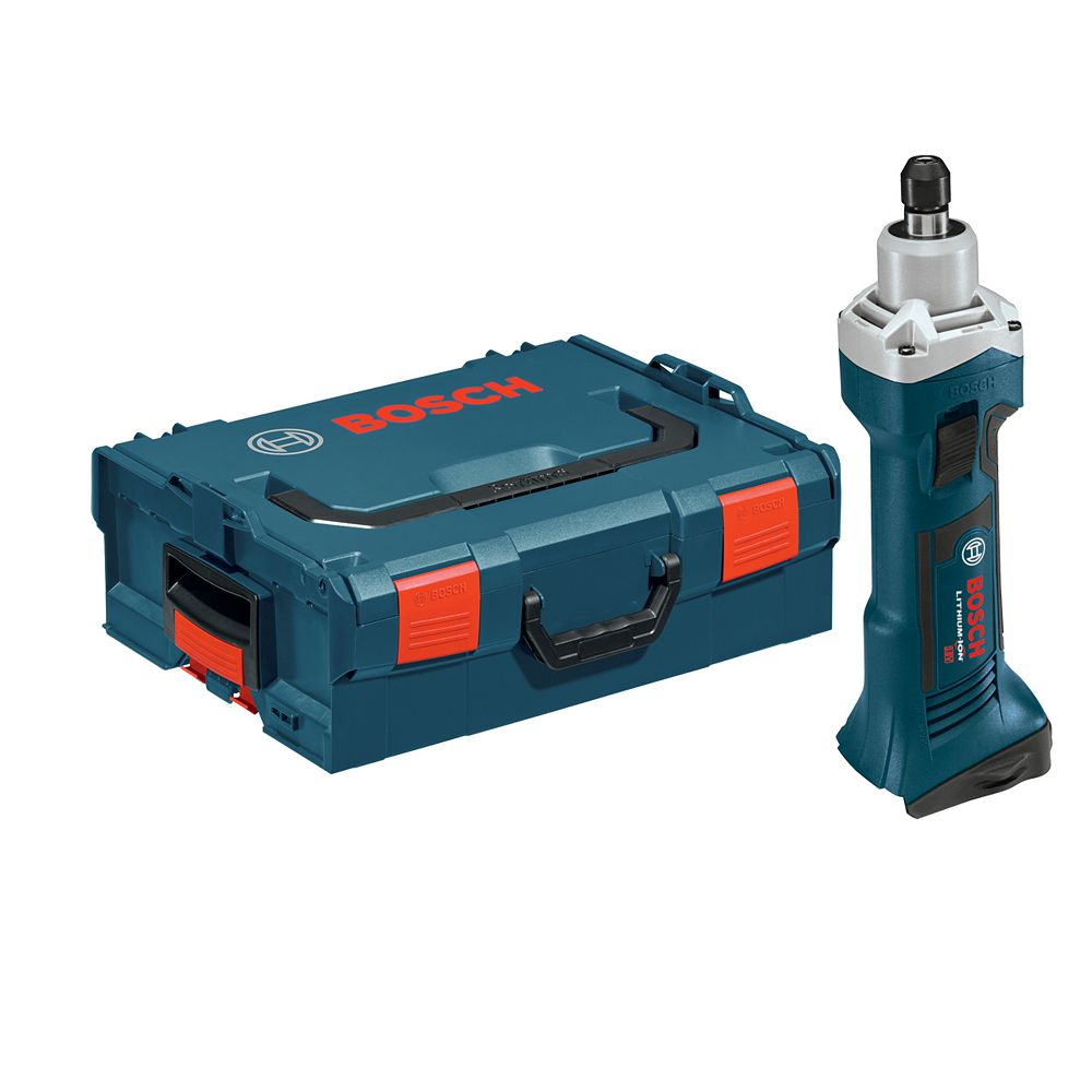 Bosch 18 V Lithium-Ion Die Grinder - Tool Only with L-BOXX2