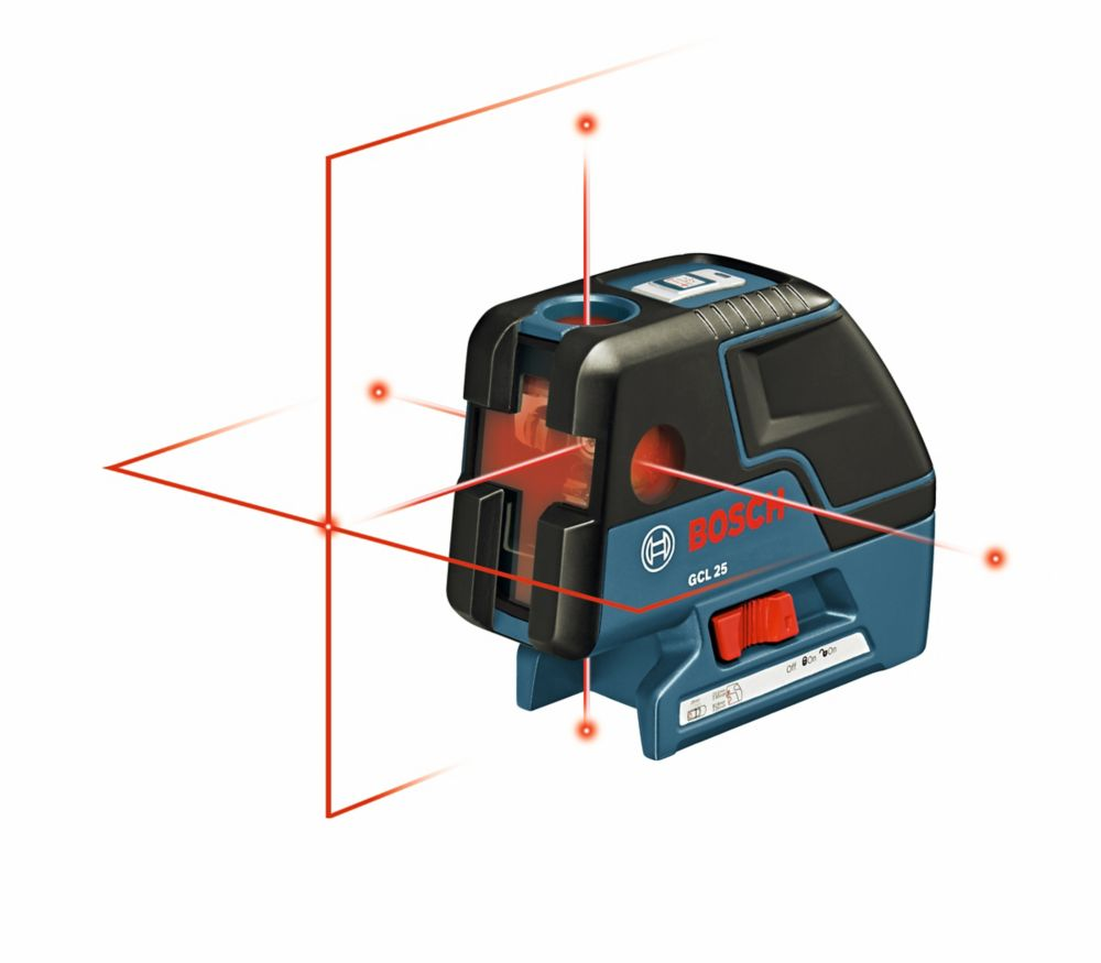 Bosch Five-Point Self-Levelling Alignment Laser and Cross-Line