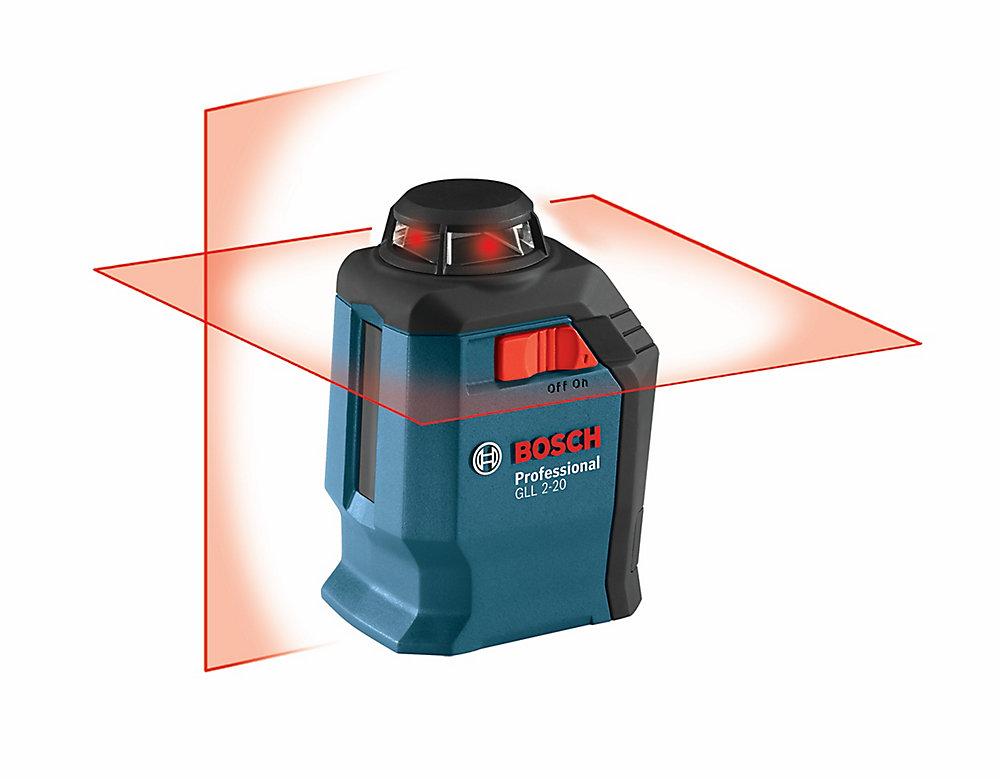 Laser en croix et à ligne de 360°